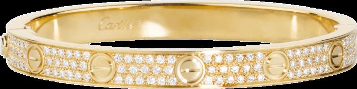 gelang cartier motif love yang sedang trend dan digilai wanita