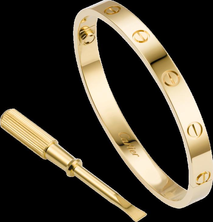 Gelang Cartier gold