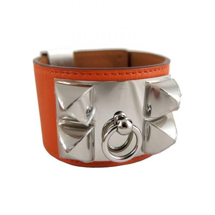 Gelang Hermes asli orange