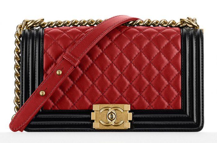 Harga tas Chanel original red