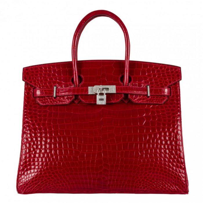 Harga tas Hermes Birkin original red
