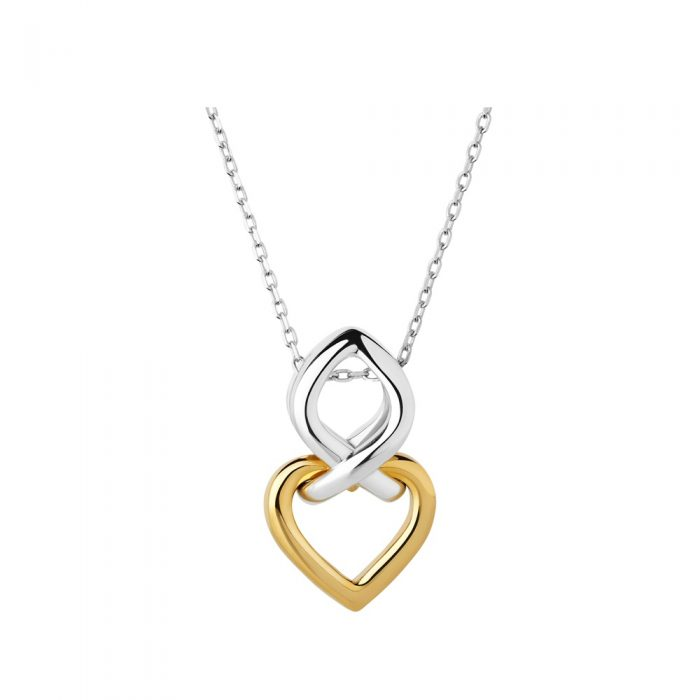 Kalung love gold heart