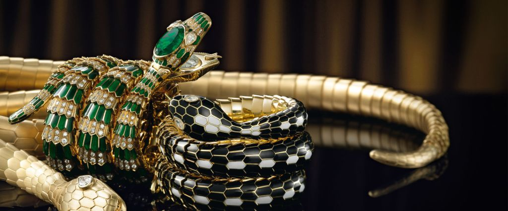 Model kalung emas terbaru snake