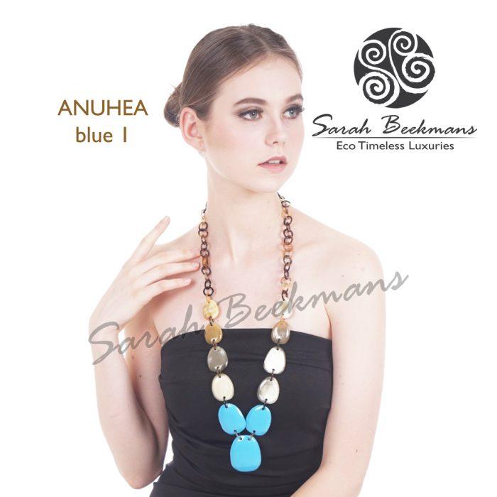 Aksesoris kalung wanita online blue