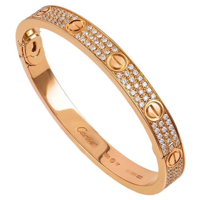 harga gelang cartier diamond 2