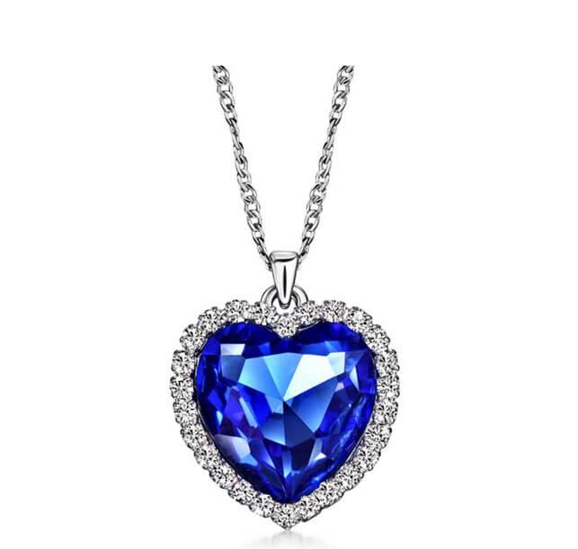 kalung berlian titanic heart