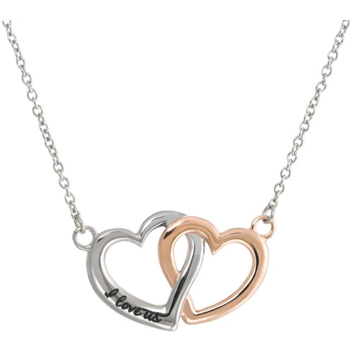 kalung love heart mix