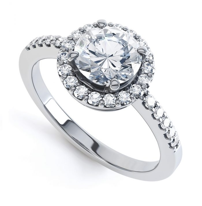 Jual cincin wanita diamond