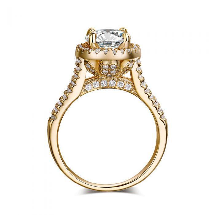 Jual cincin wanita gold