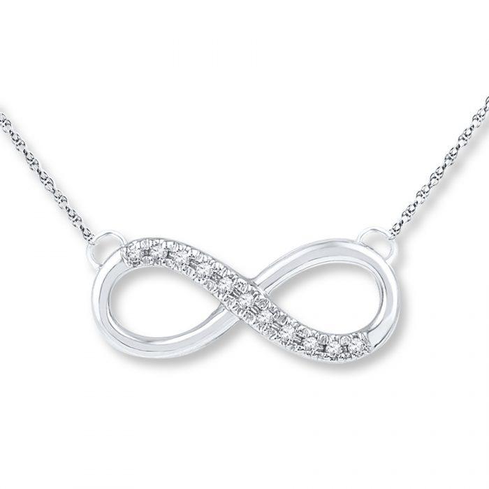 Jual kalung online infinity diamond