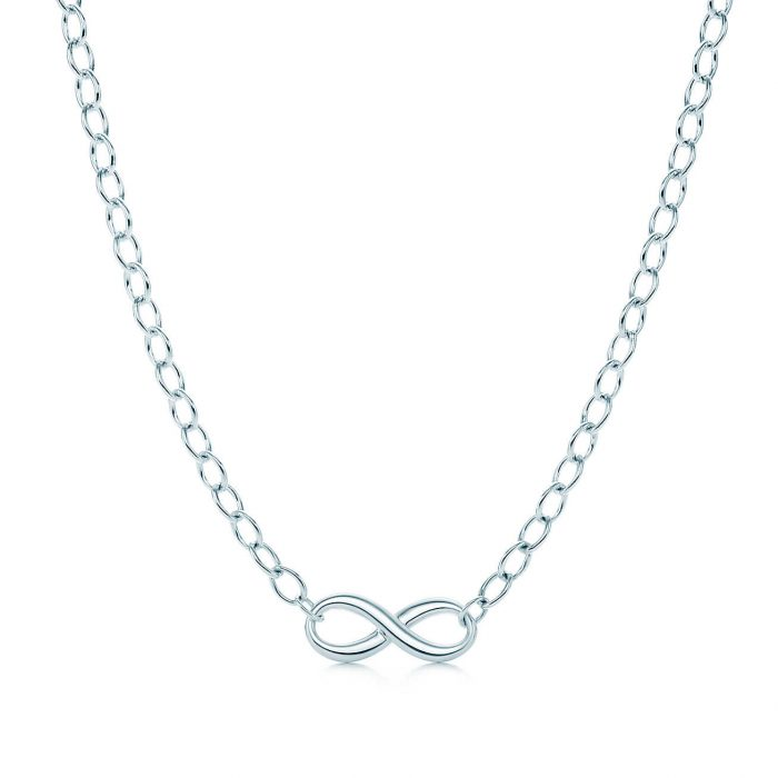 Jual kalung online infinity silver