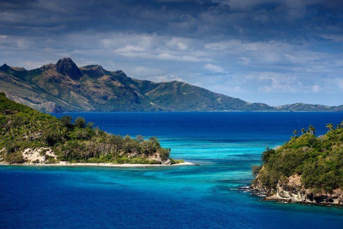the beauty of Fiji
