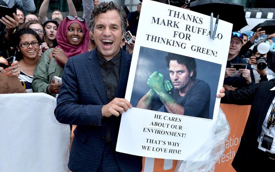 Mark Ruffalo, pemeran Hulk yang juga aktivis lingkungan