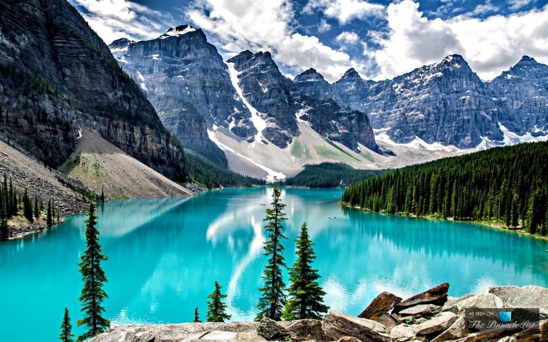 Danau Moraine Kanada Danau Terbaik di Dunia