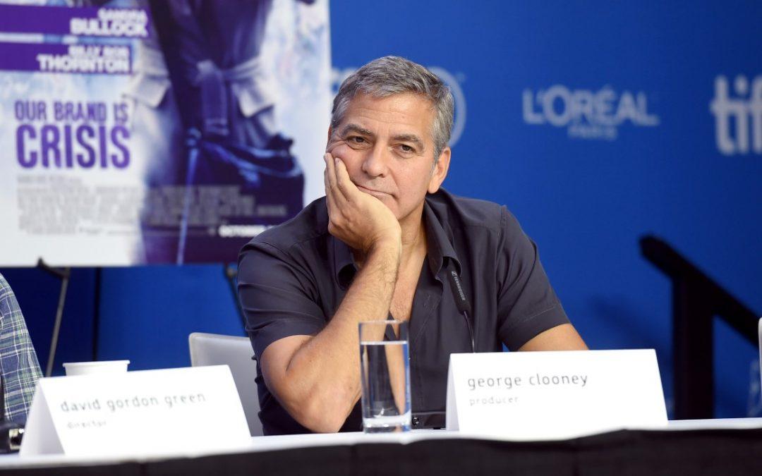 George Clooney Meluncurkan Oil Change