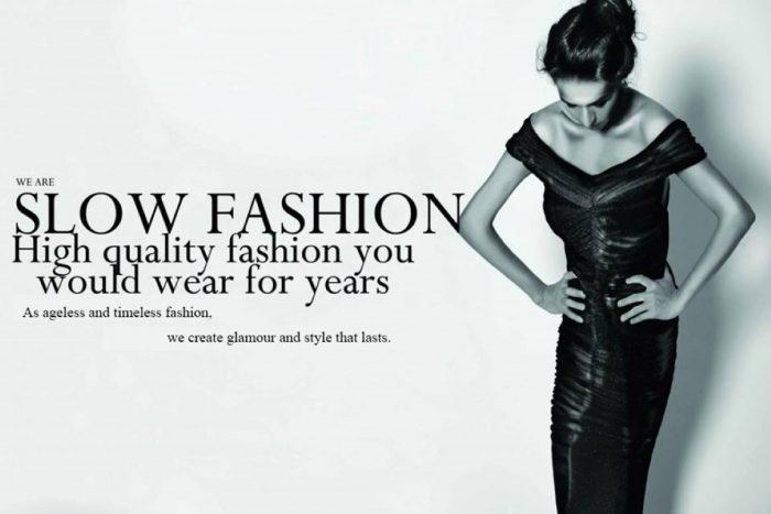 Gerakan slow fashion