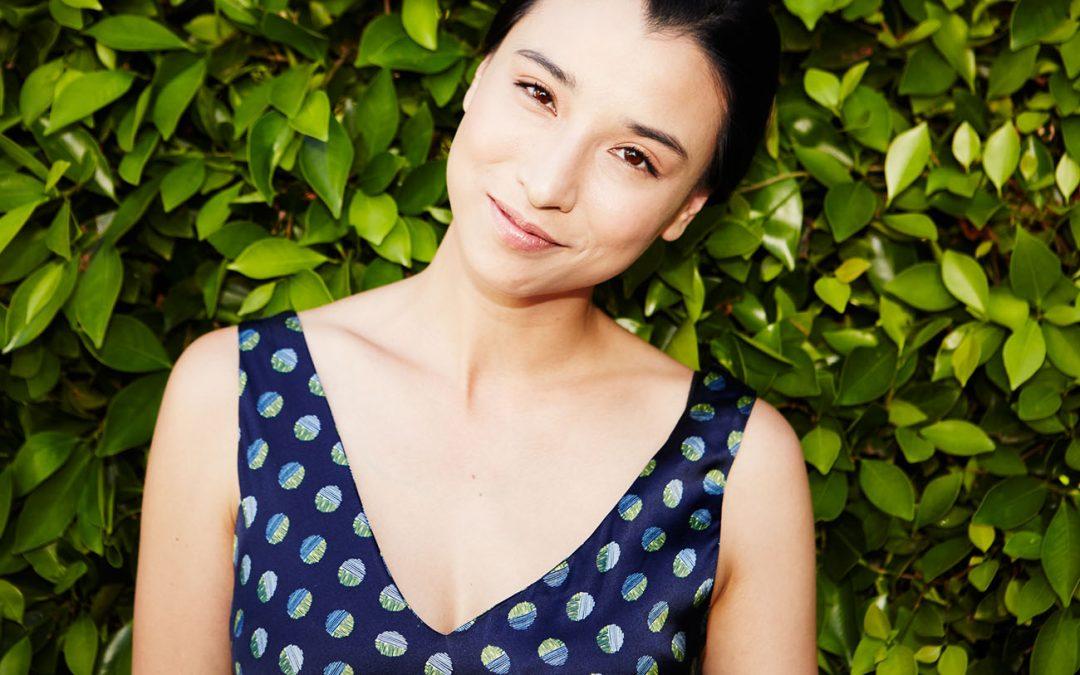 Dulunya Model Lily Kwong Kini Menjadi Desainer Yang Peduli Lingkungan