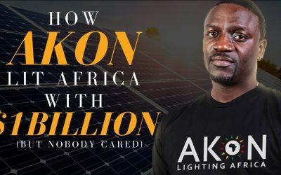 Akon Memberikan Cahaya Di Benua Afrika