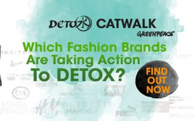 Kampanye detox catwalk Greenpeace