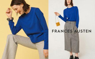 Sweater Frances Austen Yang Tahan Seumur Hidup