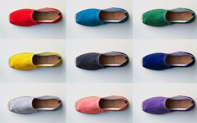 Sepatu Cantik Alice + Whittles Berbahan Kulit Jok Bekas