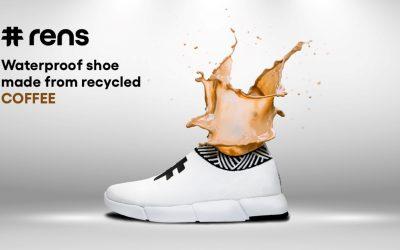Sepatu Rens Yang Berbahan Limbah Kopi Pertama Didunia